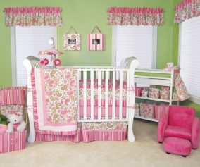 Baby Girl Toddler Bed