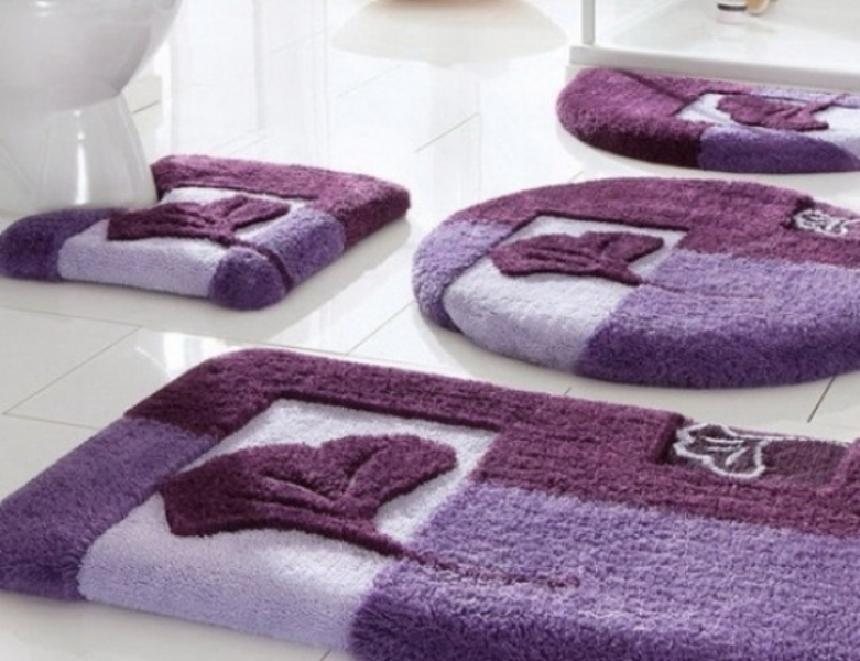 Image of: Bath Rugs Sets