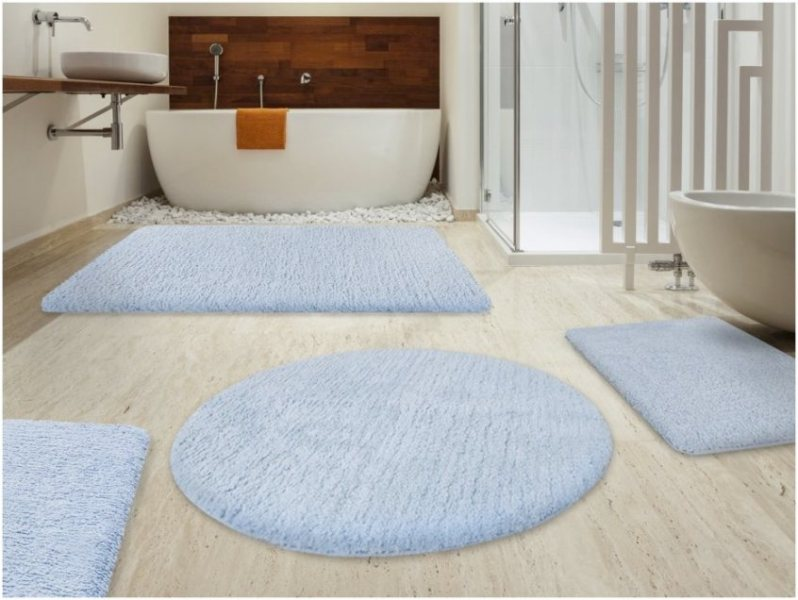 Image of: Bathroom Rugs Clearance
