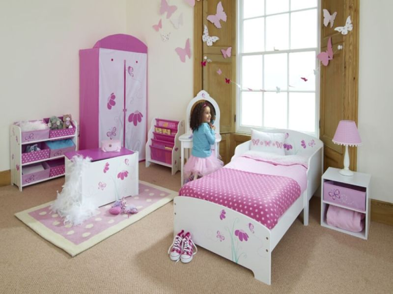 Image of: Cute Toddler Girl Beds