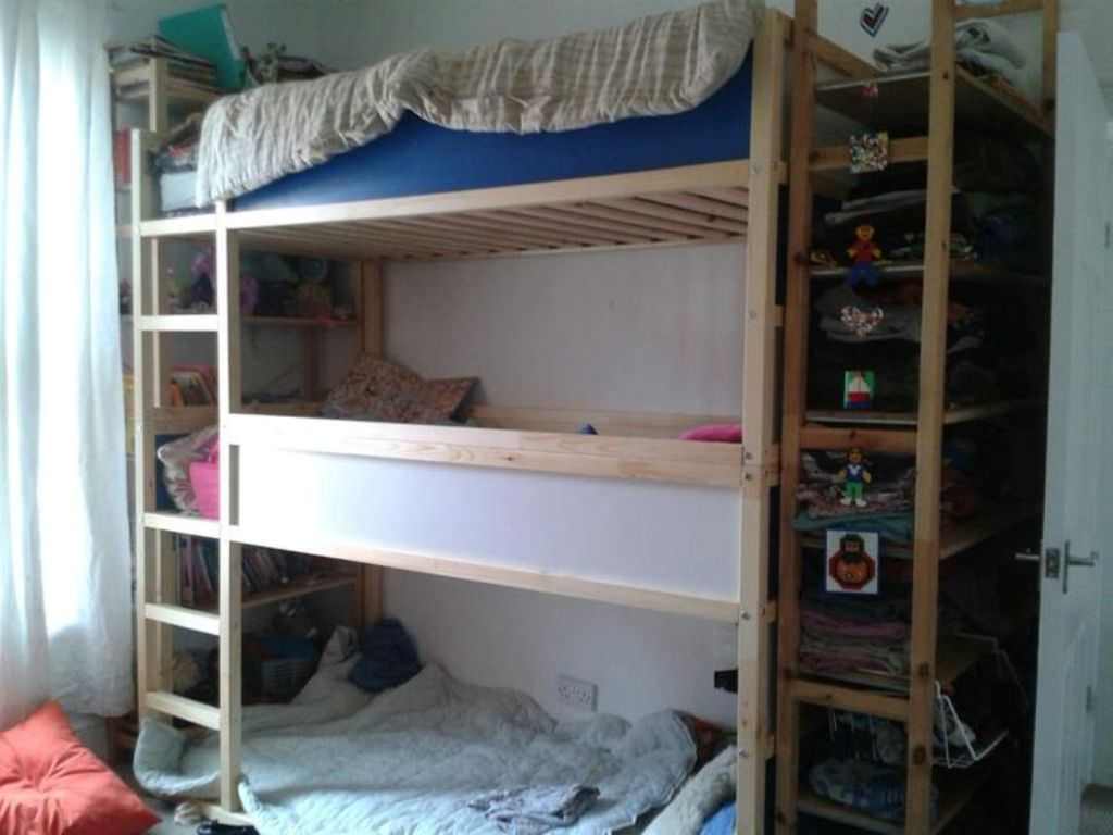 Ikea Triple Bunk Bed Hack