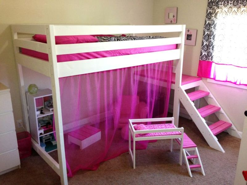 Picture of: Junior Loft Beds For Girls