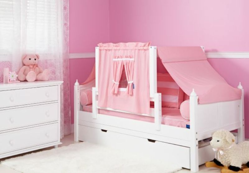 Image of: Little Girl Toddler Bed