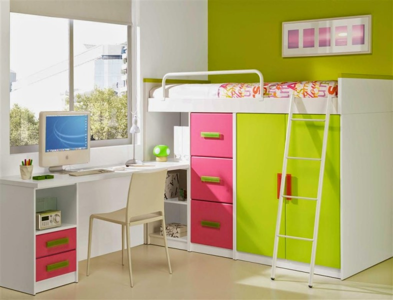 Picture of: Loft Beds For Girls Ikea