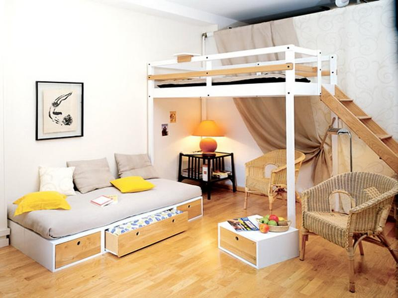 Picture of: Loft Beds For Girls Room