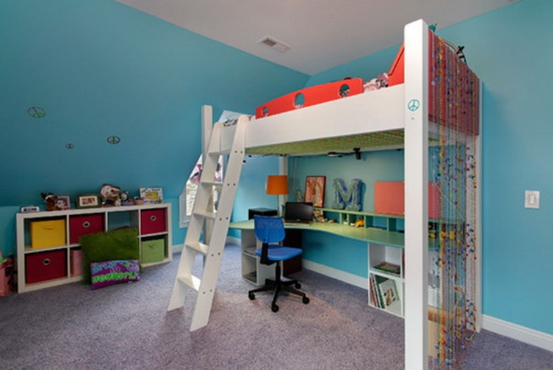 Picture of: Loft Beds For Teenage Girls