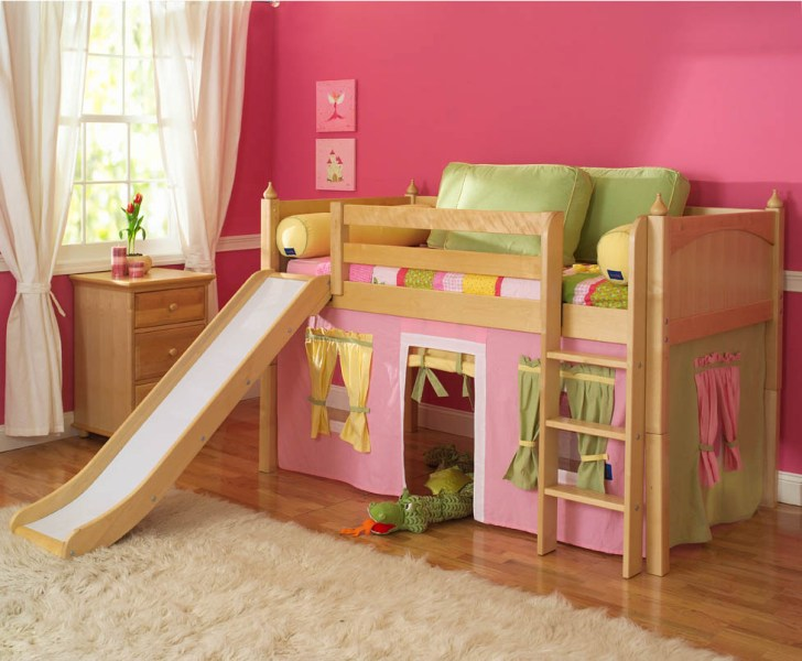 Picture of: Loft Bunk Beds For Girls