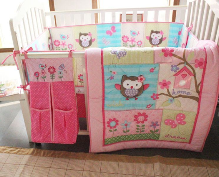 Image of: Owl Baby Bedding Sets