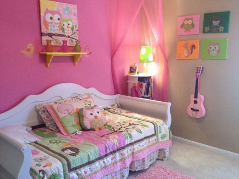 Image of: Owl Bedding For Girls Room