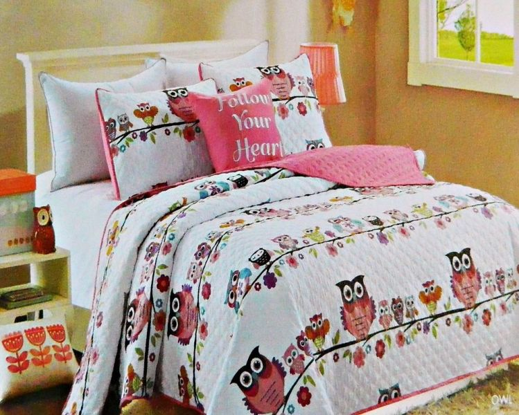 Image of: Owl Bedding For Teens