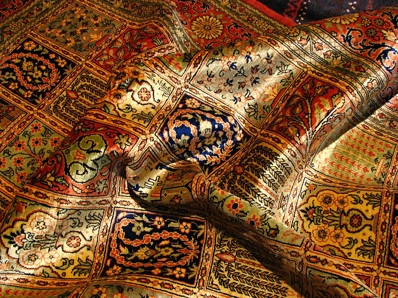 Picture of: Persian Silk Rugs