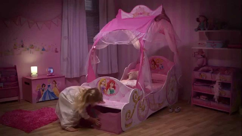 Picture of: Princess Toddler Beds for Girls