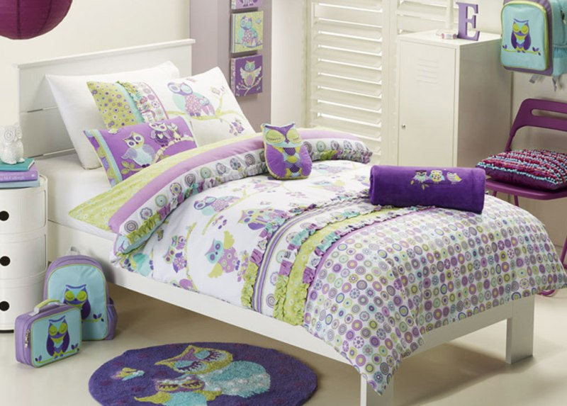 Picture of: Teen Girl Owl Bedding