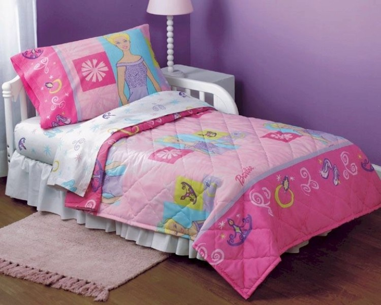 Image of: Toddler Bed Sheets Girl