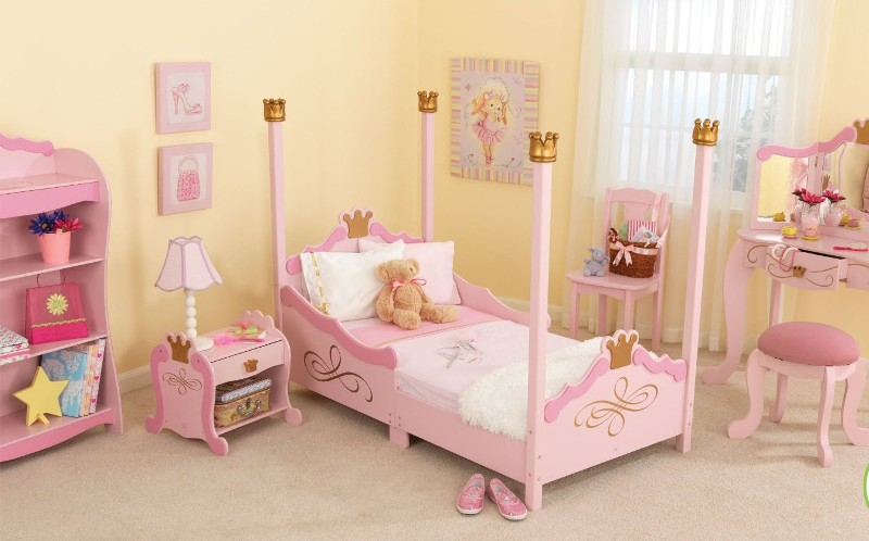 Image of: Toddler Girl Bed
