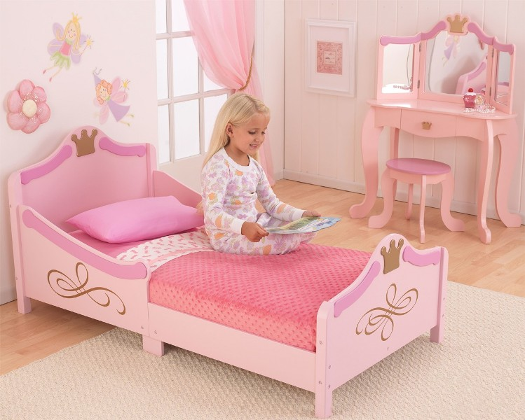 Picture of: Toddler Girl Princess Bed