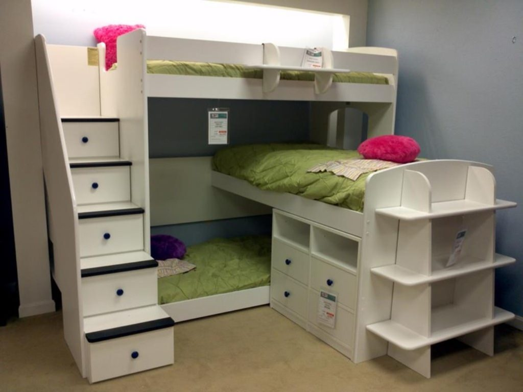 Triple Loft Bunk Bed