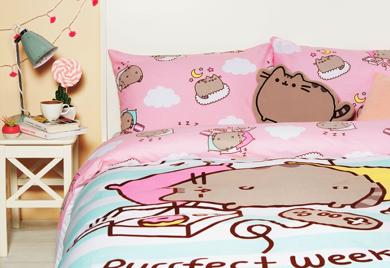 Pusheen Cat Bedding Set