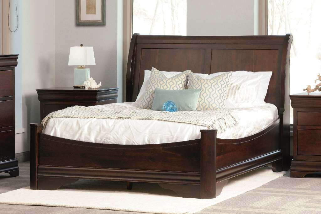 Avignon Sleigh Bed With Storage
