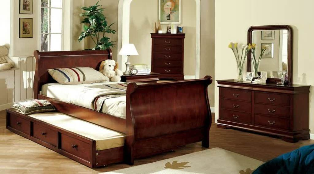 Single Sleigh Bed With Storage