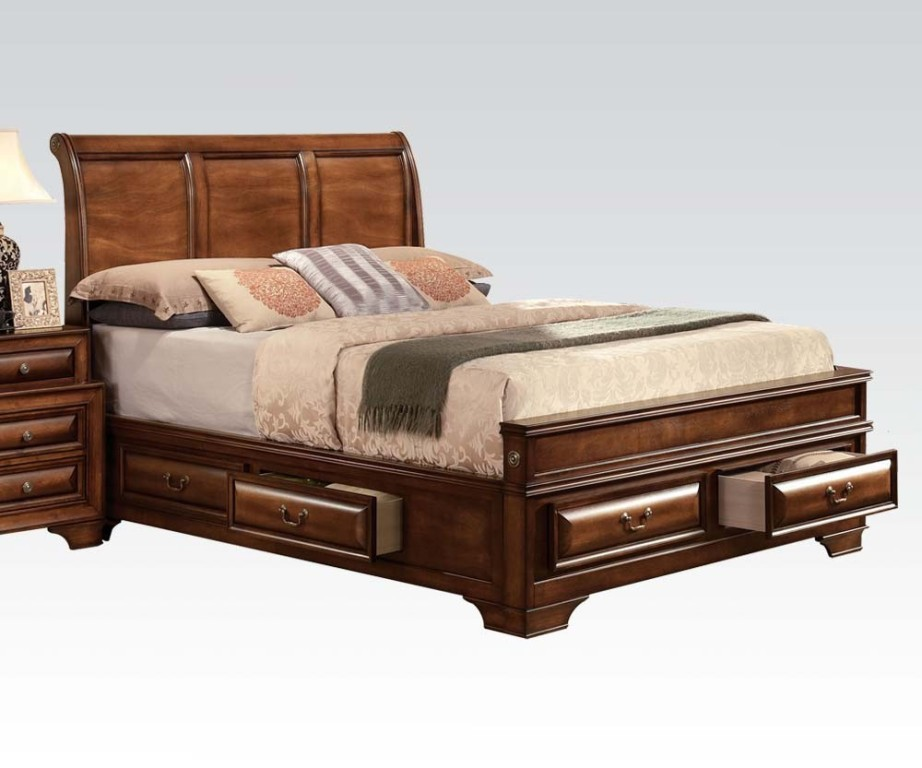 Sleigh Bed With Storage Plans
