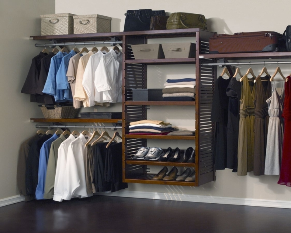 Picture of: All Wood Closet Organizers