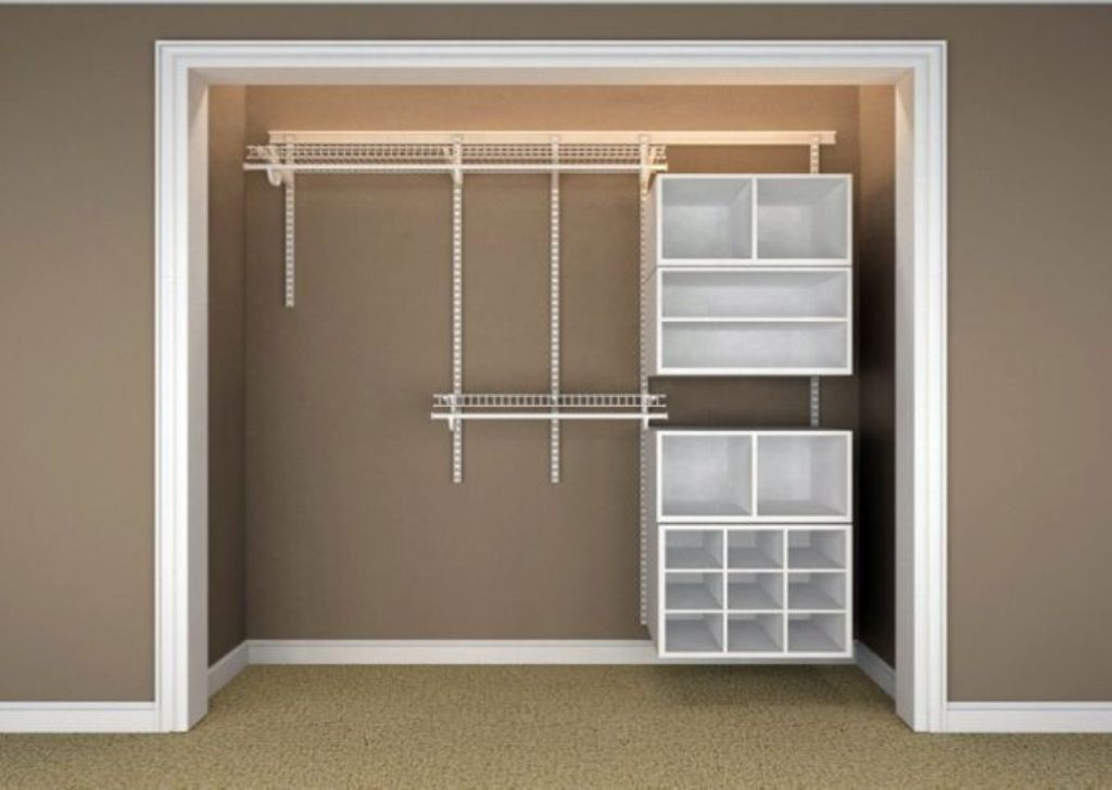 Picture of: Cheap Wood Closet Organizers
