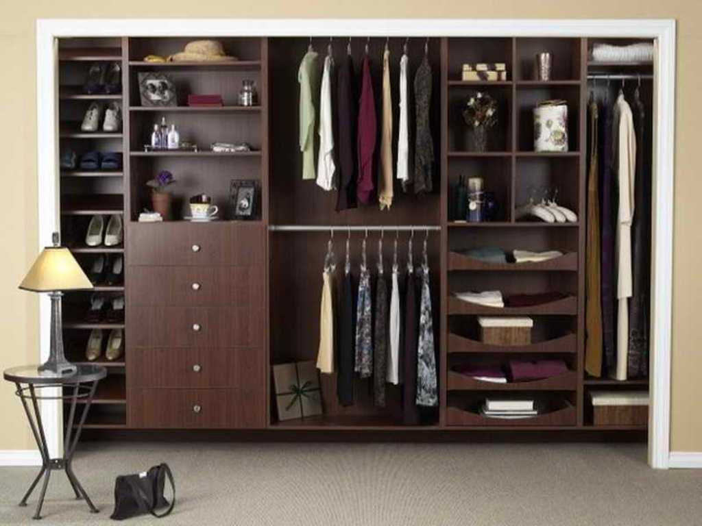 Picture of: Real Wood Closet Organizers
