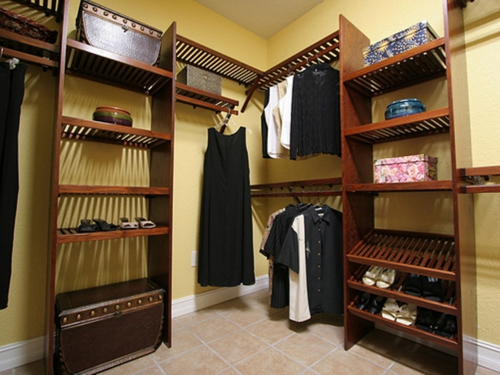 Picture of: Unfinished Wood Closet Organizers