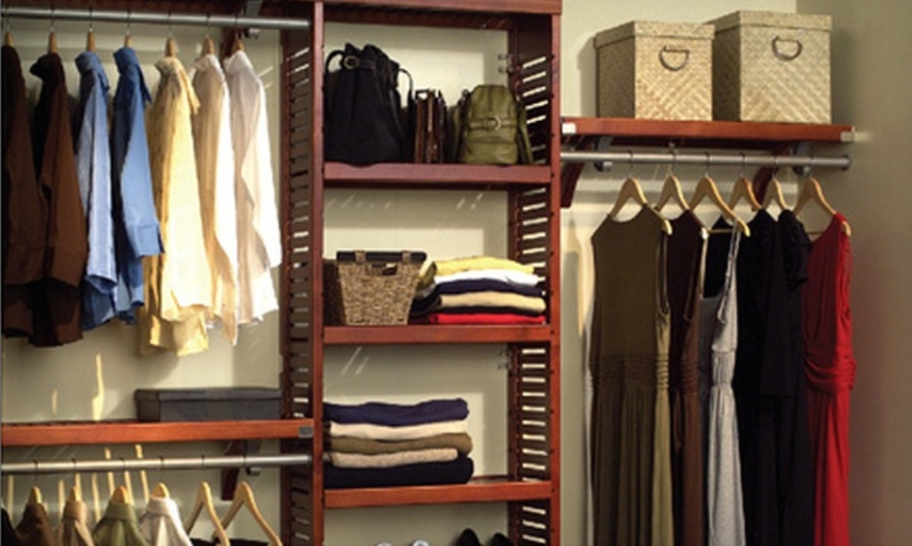 Picture of: Wood Closet Organizers Canada