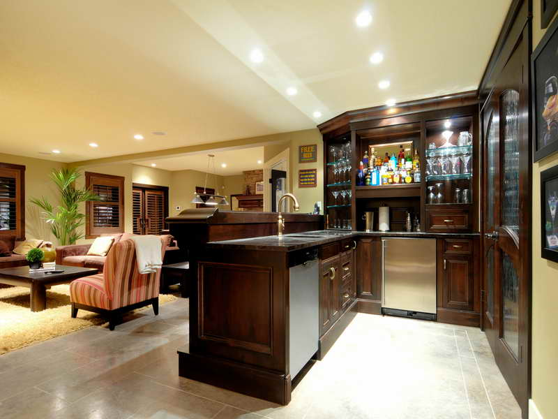 Awesome Basement Kitchen Design