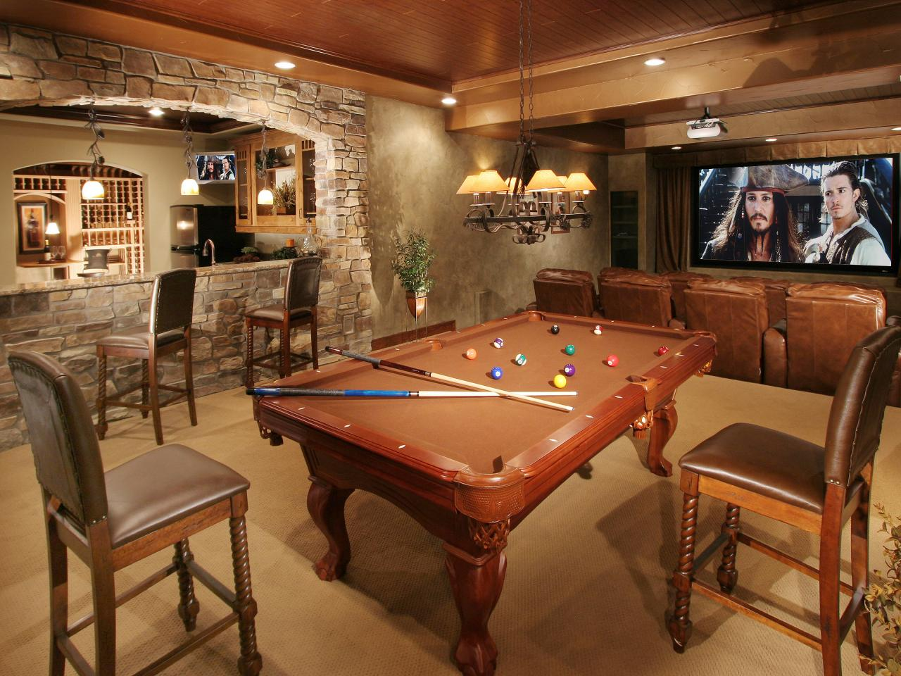 Awesome Basement Designs