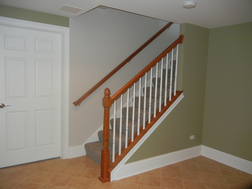 Image of: Awesome Basement Stairs