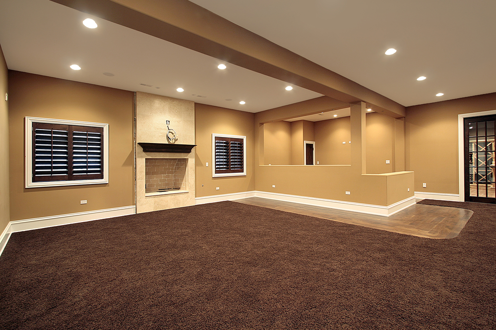 Picture of: Awesome Basement Window Treatments
