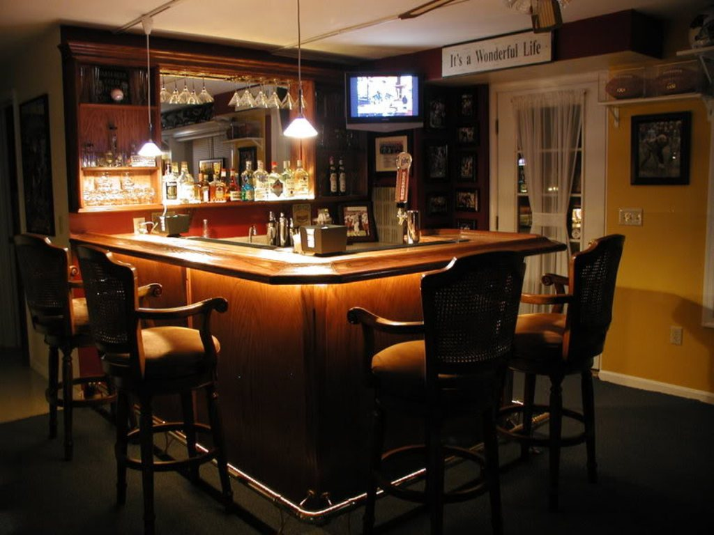 Basement Bar Plans For Home