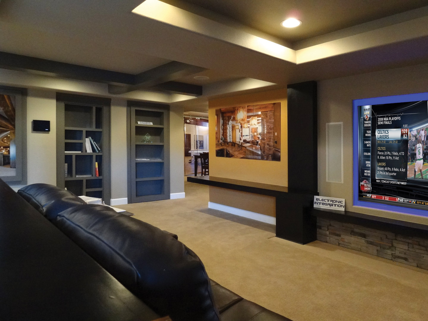Image of: Basement Design Denver Designs