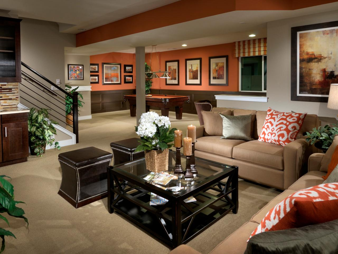 Image of: Basement Design Denver Furniture