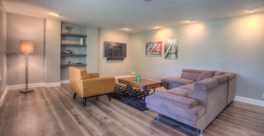 Image of: Basement Design Denver Type