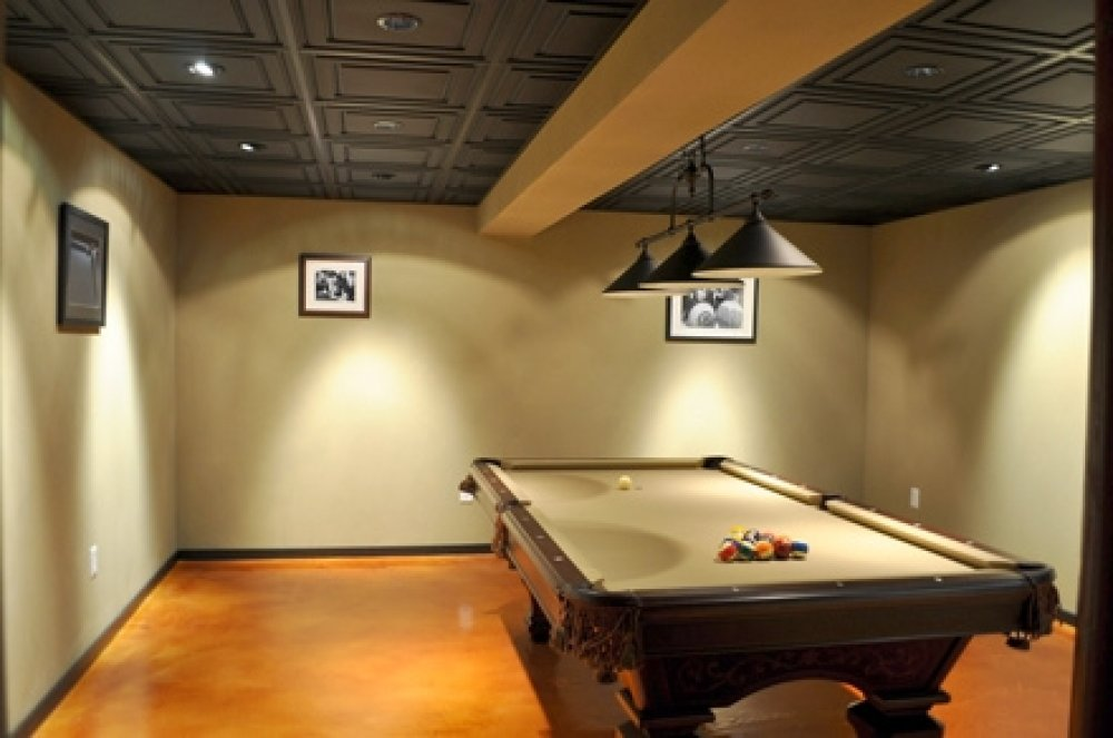Basement Drop Ceiling Ideas Lighting