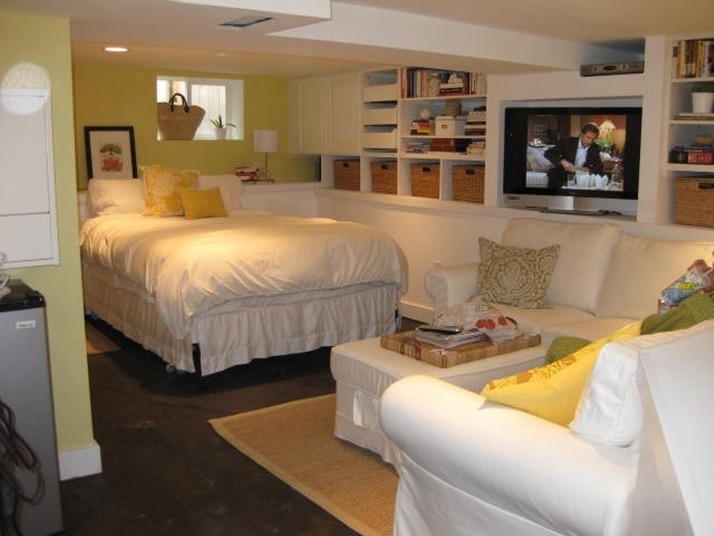 Image of: Basement into Bedroom Ideas Apartment Therapy