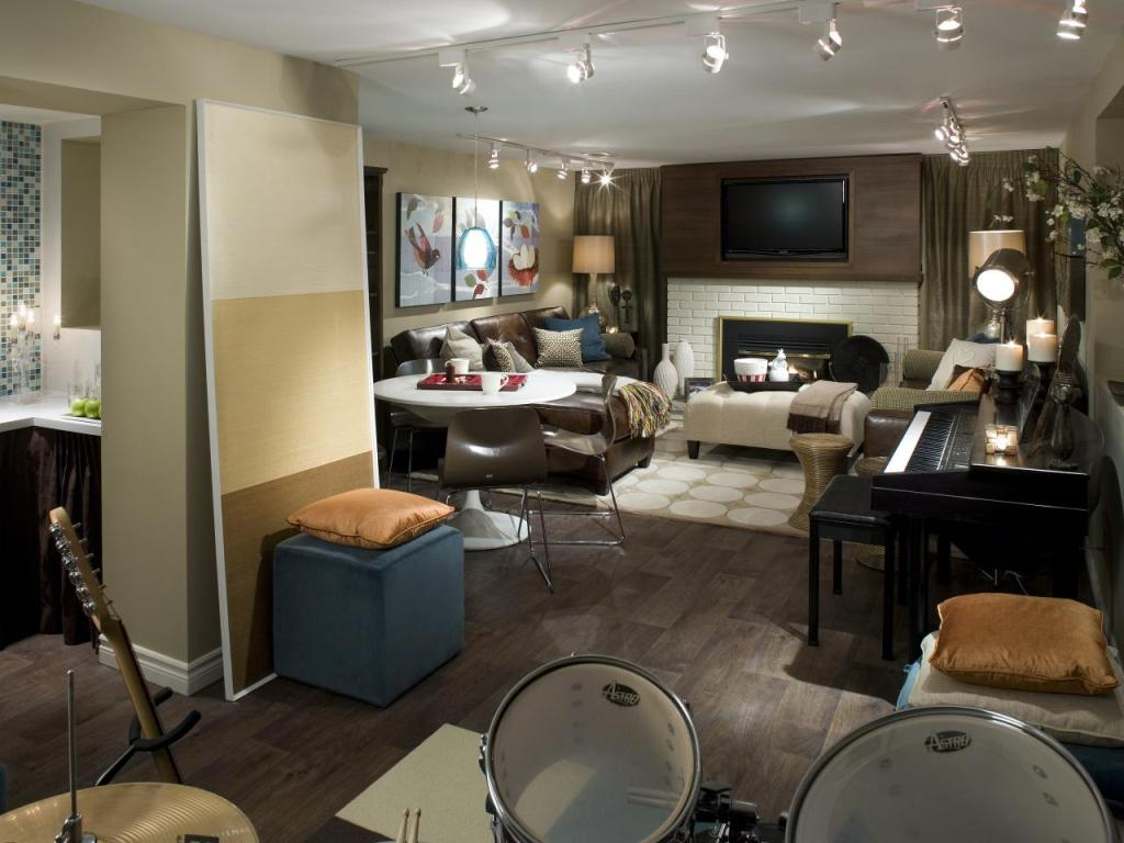 Image of: Basement into Bedroom Ideas for Girls