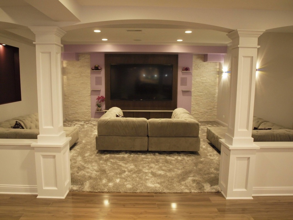 Basement Remodeling Plans Before And After