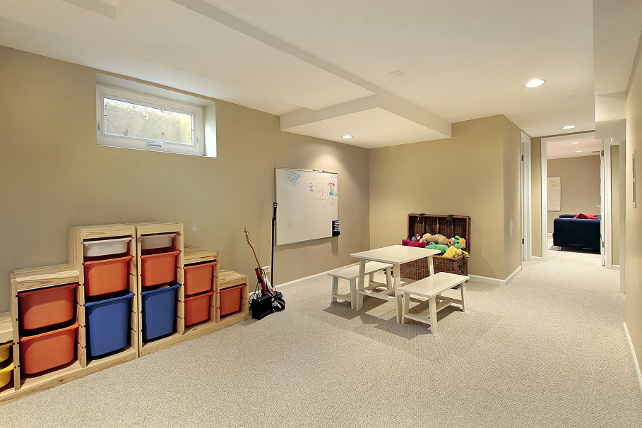 Image of: Basement Wall Paint Sealer Ideas