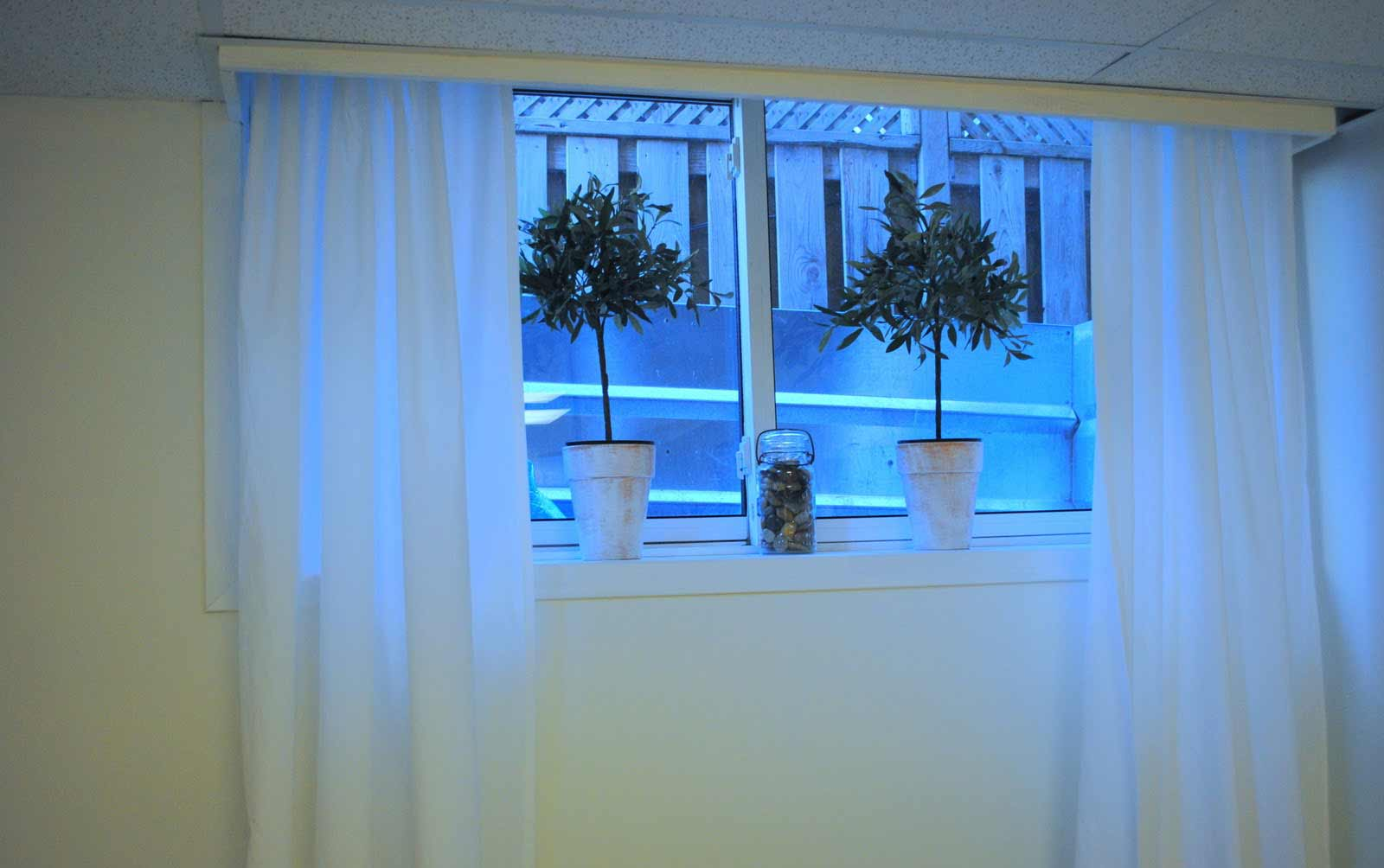 Picture of: Basement Window Treatments Image
