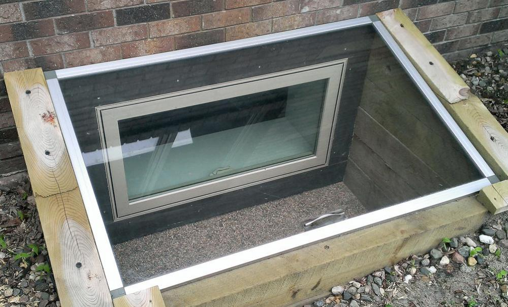 Picture of: Basement Window Well Covers Egress