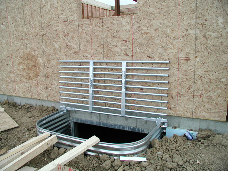 Picture of: Basement Window Well Covers Steel