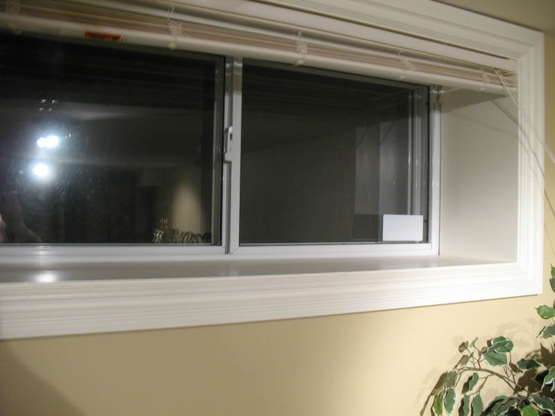 Image of: Basement Windows Finished