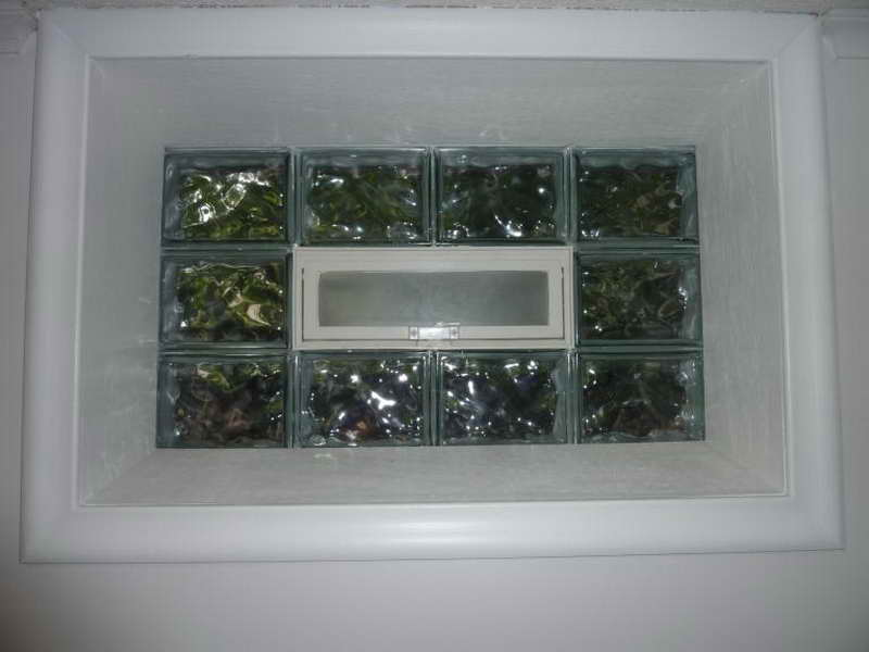 Image of: Basement Windows Glass