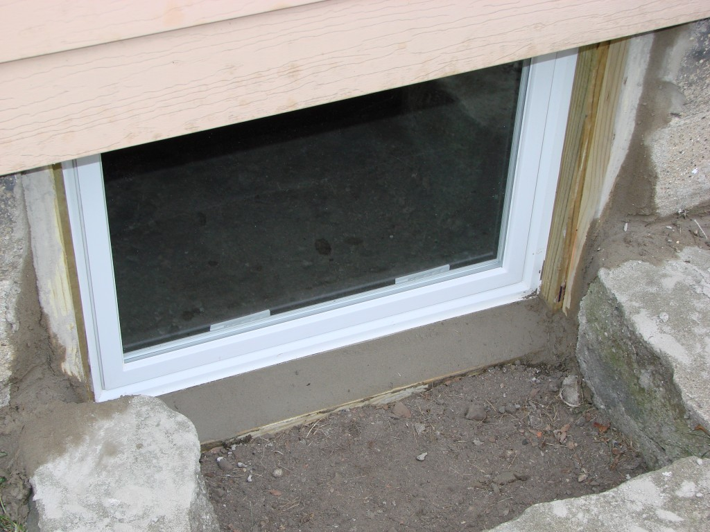 Image of: Basement Windows Replacement