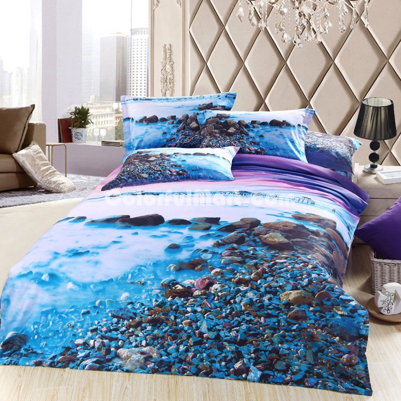 Image of: Beach Twin Mattress Cover